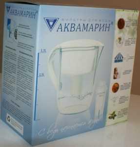 Кашированная упаковка из микрогофрокартона под фильтры для воды